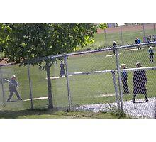 Amish baseball Photographic Print