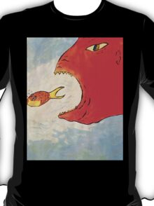 Fish and the Creature  T-Shirt