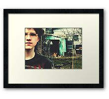 03-13-11:  The Ruse Framed Print