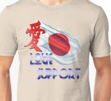 Japan_Love and Support Shirts Unisex T-Shirt