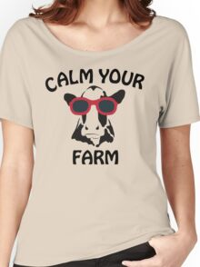 Calm your Farm Women's Relaxed Fit T-Shirt