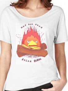 Curse of Calcifer Women's Relaxed Fit T-Shirt
