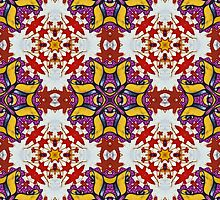 Graffito kaleidoscope #40 by Roberto Pagani