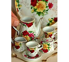 Come for Tea.............. fit for a queen... Photographic Print