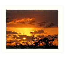 Sunrise - Recliffe Art Print