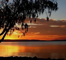 Sunset - Jamieson Park, Redcliffe by peachblossom