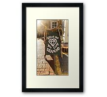 Urban Photography - Pink Floyd Framed Print