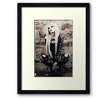 Gothic Squat Framed Print