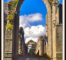 Fountains Abbey II by David Davies