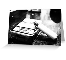 Smoking can kill -1- Greeting Card