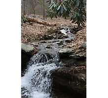 Cold Spring Babbling Along Photographic Print