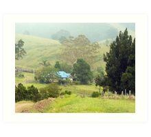 Home, Krambach.  NSW.  Australia Art Print