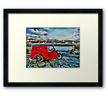 """"""" Lighthouse Pottery """" Portpatrick Framed Print"""