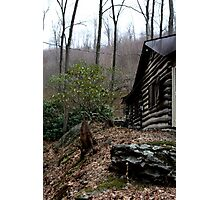 Cold Spring Cabin  Photographic Print