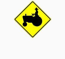 Farm Tractor Crossing sign  Unisex T-Shirt
