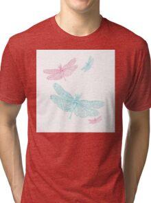 BRCA Dragon Fly  Tri-blend T-Shirt