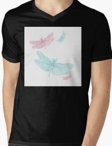 BRCA Dragon Fly  Mens V-Neck T-Shirt