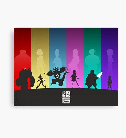 The Big Hero 6 Canvas Print