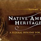 Native American Heritage Day by chung-deh tien
