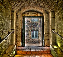 Citadel Hill tunnel by Roxane Bay