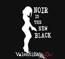 Noir is the New Black Womens Fitted T-Shirt