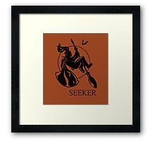 Seeker Print Framed Print