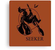 Seeker Print Canvas Print
