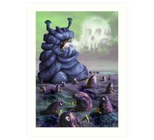 Holiday in Dystopia Art Print