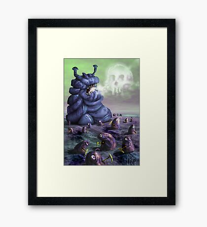 Holiday in Dystopia Framed Print