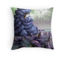 Holiday in Dystopia Throw Pillow