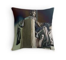 Do I have to get out of my chair and straighten things out? Throw Pillow