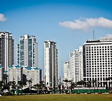 """Morning in a beautiful city - Bonifacio Global City"" by Michael  Habal"