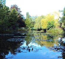 Pond - Monet's Garden by bemuse