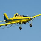 Air Tractor On Final by Murray Wills