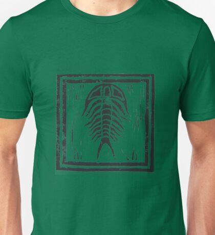Trilobite with Border Unisex T-Shirt