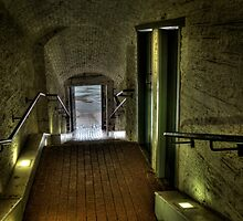 The Citadel tunnel Halifax NS by Roxane Bay