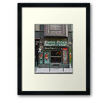 Panic Pub, Budapest, Hungary Framed Print