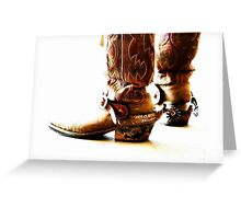 Long in the Boot Greeting Card