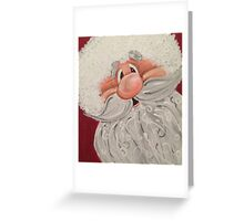Jolly Claus Greeting Card