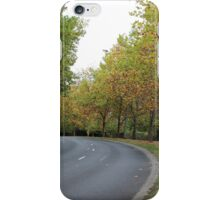 Autumn Drive iPhone Case/Skin