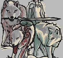 Hunting With The Pack by njonestees