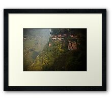 bamboo sea ....... Framed Print