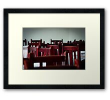 decor .. Framed Print