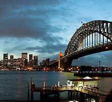 Sydney Harbour Panorama by gnubee