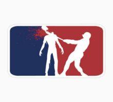 Zombie Down Baseball style by Tony  Bazidlo