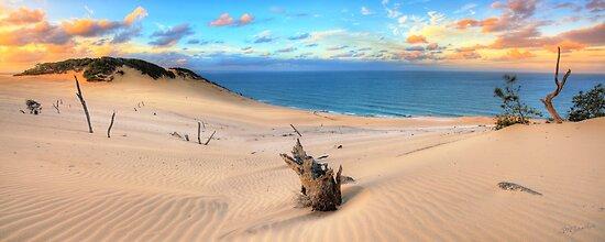 Carlo Sand Blow - Rainbow Beach by Adam Gormley