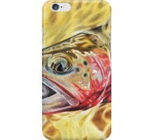 Greenback Cutthroat Trout iPhone Case/Skin