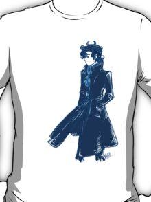 Sherlock Holmes - Blue - No Text T-Shirt