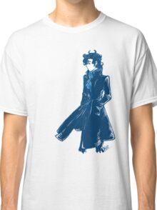 Sherlock Holmes - Blue - No Text Classic T-Shirt