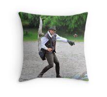 falconry Throw Pillow